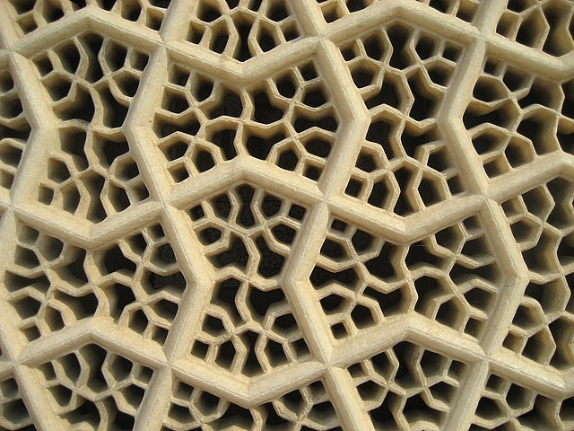 Marble carved screens