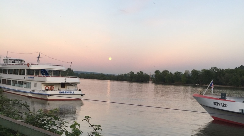 Moon over the Rhine