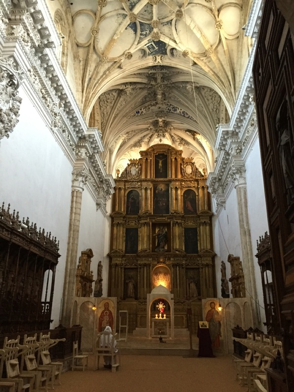 Interior monastery
