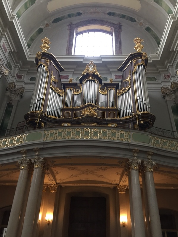 The organ played by Mozart