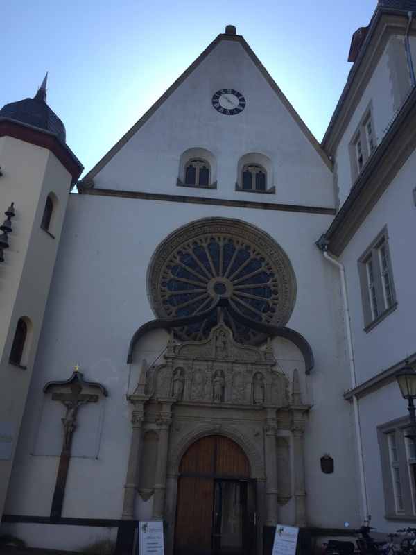 Pretty Jesuit church