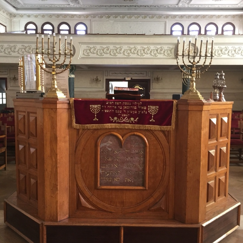 Beautiful bimah