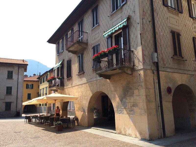 Where we stayed at lake Como