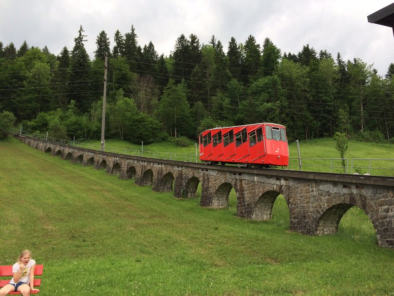 Little red mountain train