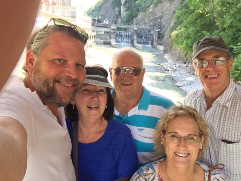 Family day out in Austria