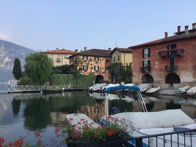 Old town on Lake Como