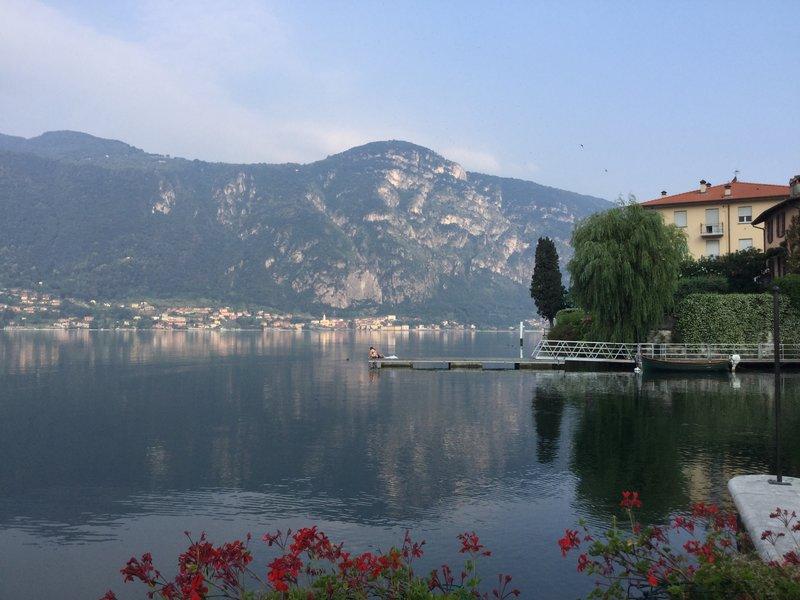 Lake Como in the morning