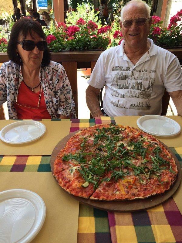 Lunch in small village in Chianti