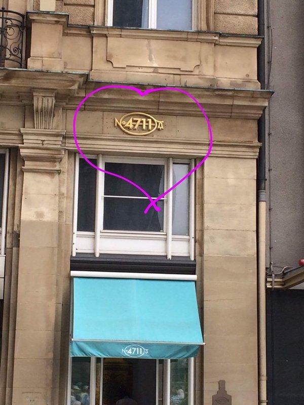 Home of 4711 Eau de Cologne (nanny perfume)