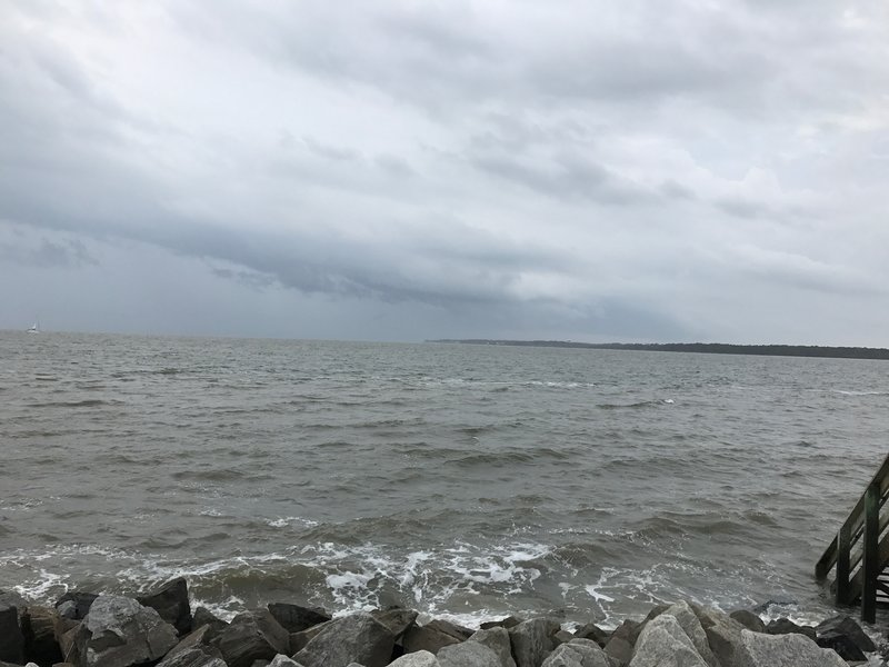 Stormy day on St. Simons Island, GA
