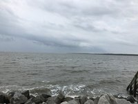 Stormy day on St. Simons Island, GA