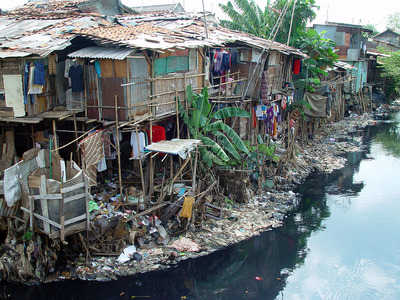 Not disimilar to the slums in India