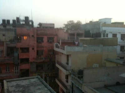 Delhi from my hotel 2