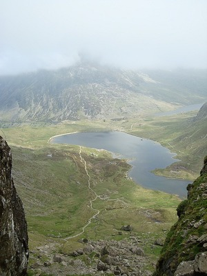 Snowdonia National Park - view from Tryfan