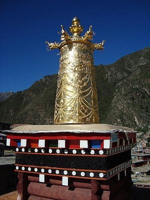 Bakong Scripture Printing Monastry - roof