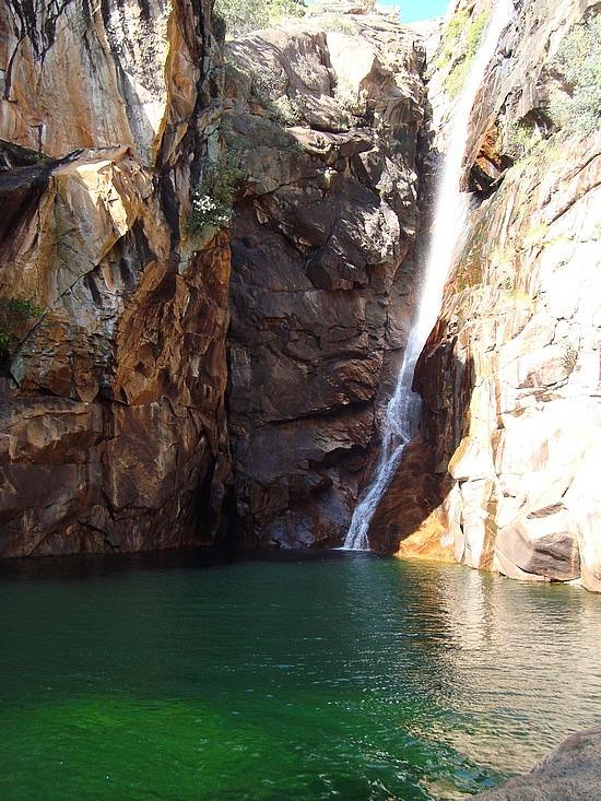 Kakadu NP -  Motor Car Waterfall