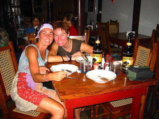 Sarah and I in Granada