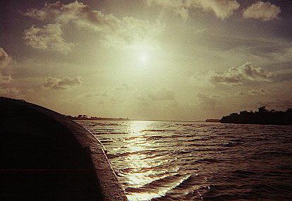 Pearl Lagoon Sunset