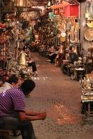 Salesmen Ready In The Medina