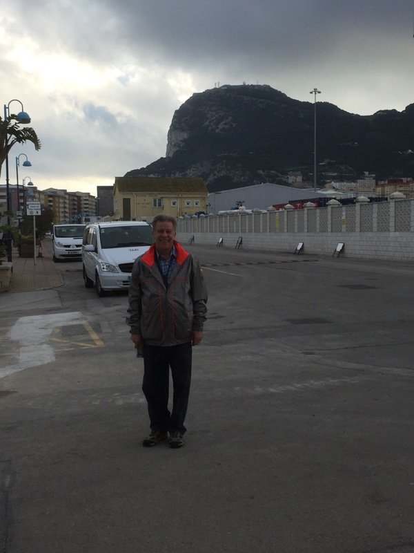 Arrived at Gibraltar