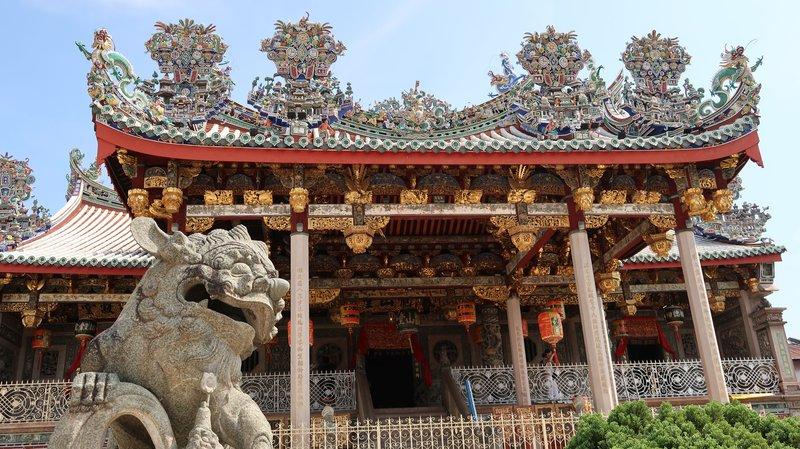 Khoo Kongsi Clan House in Georgetown, Malaysia