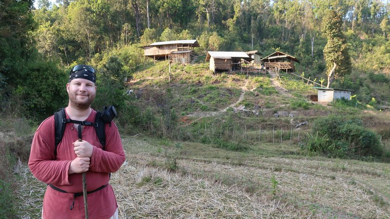 Our night quarter while trekking in Doi Inthanon National Park, Chiang Mai, Thailand.