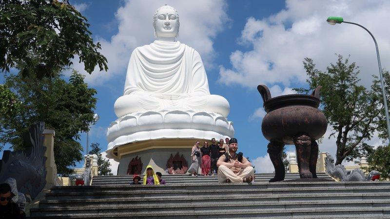 Buddha statue in Nha Trang, Vietnam.