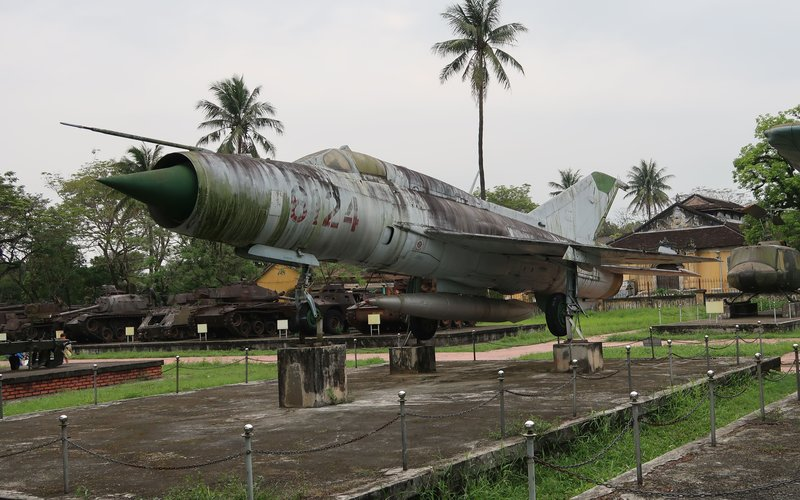 A Viet Cong Mig-21 of the victorious North Vietnam.