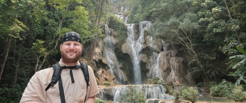 Kuang Si waterfall near Luang Prabang, Laos.