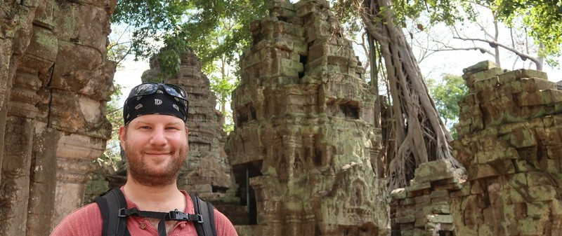 Ta Prohm in Angkor Archeological Park, Cambodia.