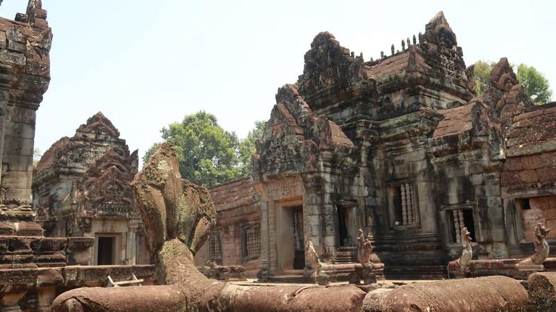 Banteay Samre in Siam Reap, Cambodia.