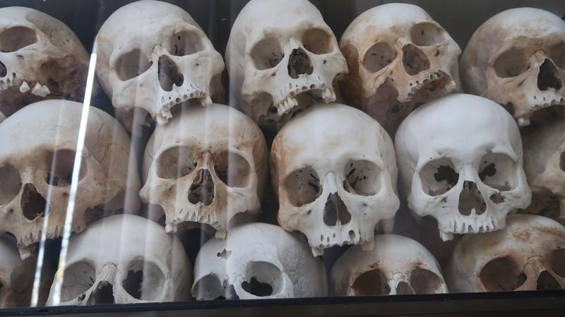 The Killing Fields of Phnom Penh, Cambodia.