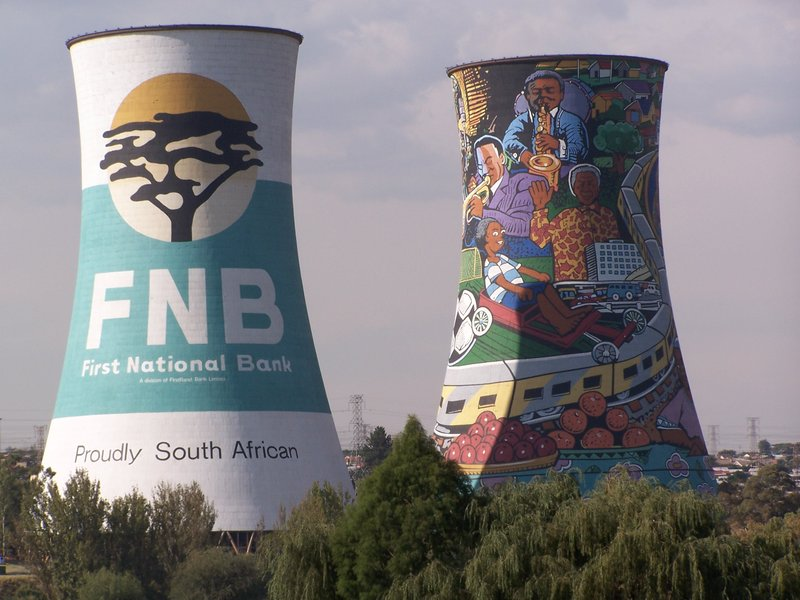 Cooling towers, Soweto