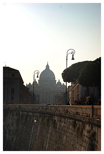 St. Peter's In The Distance