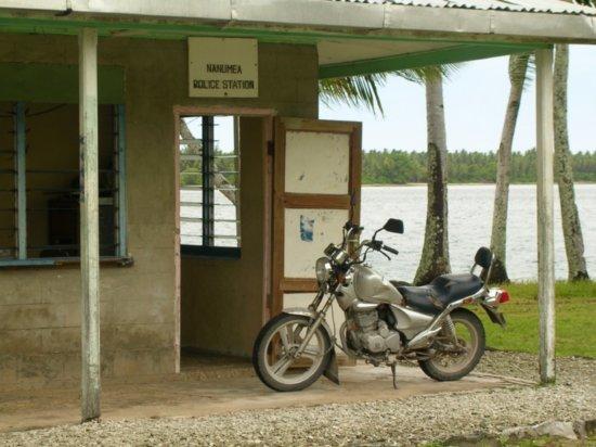 The Police Station on Nanumea