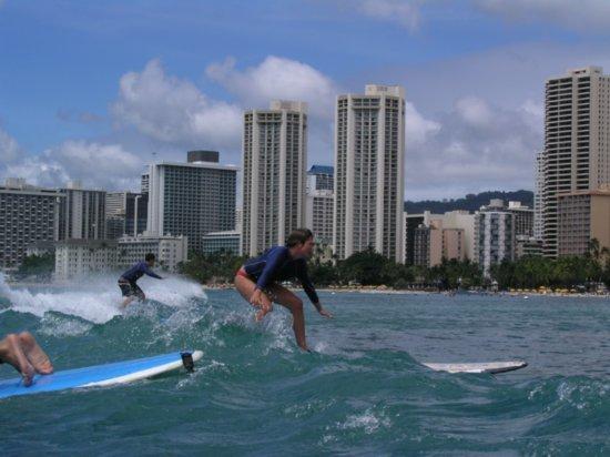Surfing Waikiki 47