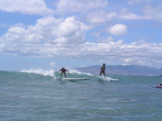 Surfing Waikiki 98