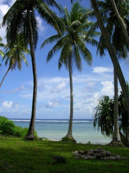 Beach on Nanumea 04
