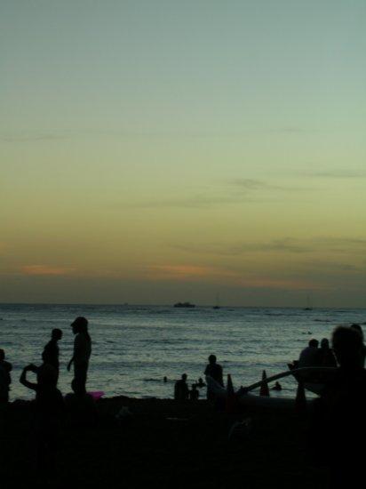Sunset on Waikiki 02
