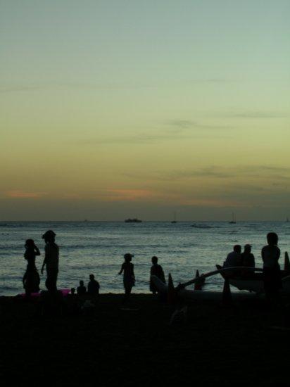 Sunset on Waikiki 03