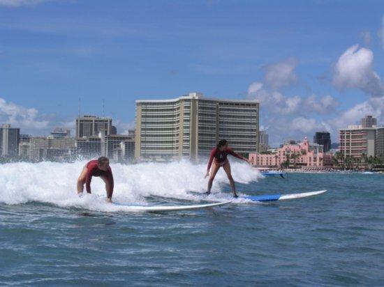 Surfing Waikiki 81