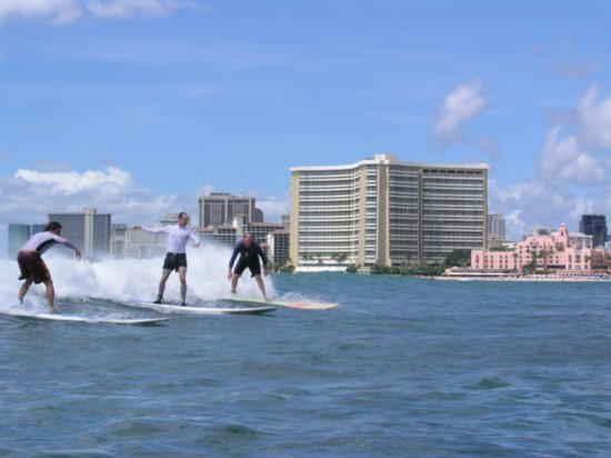 Surfing Waikiki 58