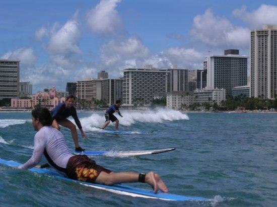Surfing Waikiki 46