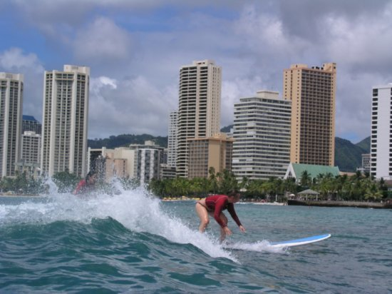 Surfing Waikiki 83
