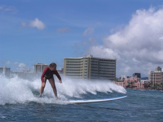 Surfing Waikiki 100