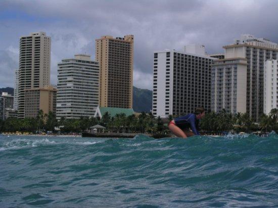 Surfing Waikiki 48