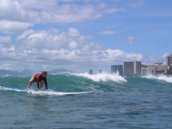 Surfing Waikiki 88