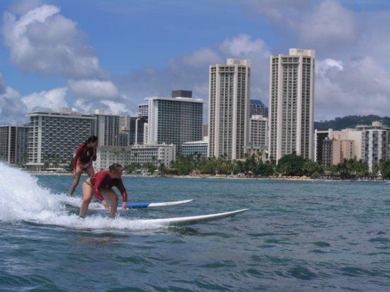 Surfing Waikiki 82