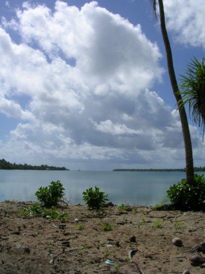 Beach on Nanumea 05