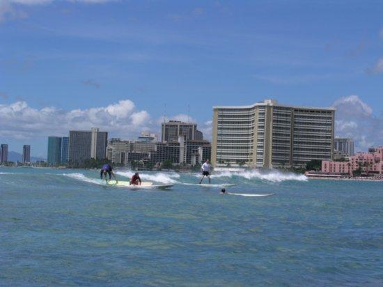 Surfing Waikiki 13
